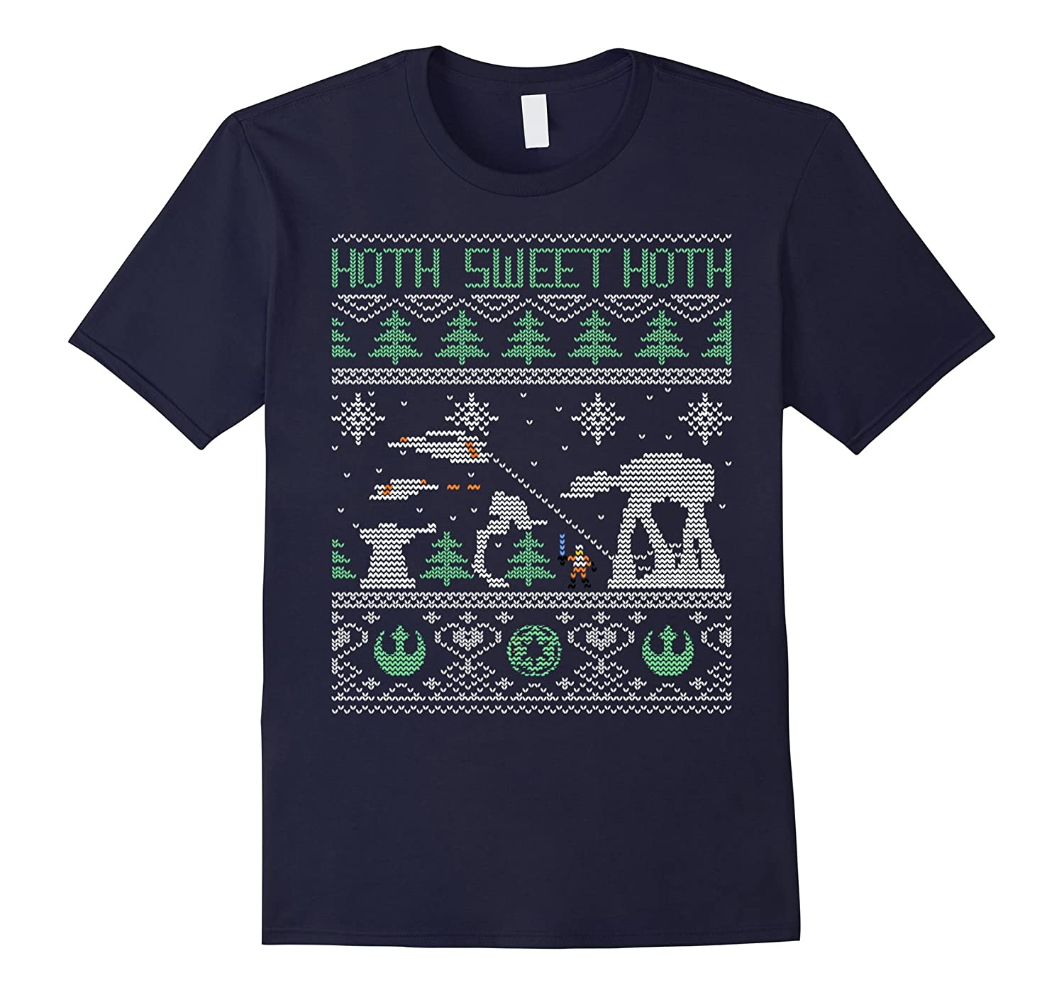 Alien Christmas T-shirt-CL