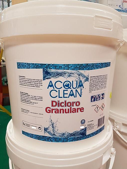 CLORO dicloro 10KG - 56% - GRANULARE RAPIDO SCIOGLIMENTO - piscina PISCINE ad5f74022084