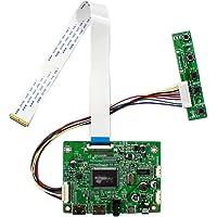 HDMI Audio LCD Placa controladora para pantalla LCD de 11.6, 13.3, 14, 15.6 y 17 pulgadas N116HSE-EA1 N133HSE-EA1 B140HAN01.2 B156HAN01.2 N173HCE-E31, 1920 x 1080, 30 pines, eDP