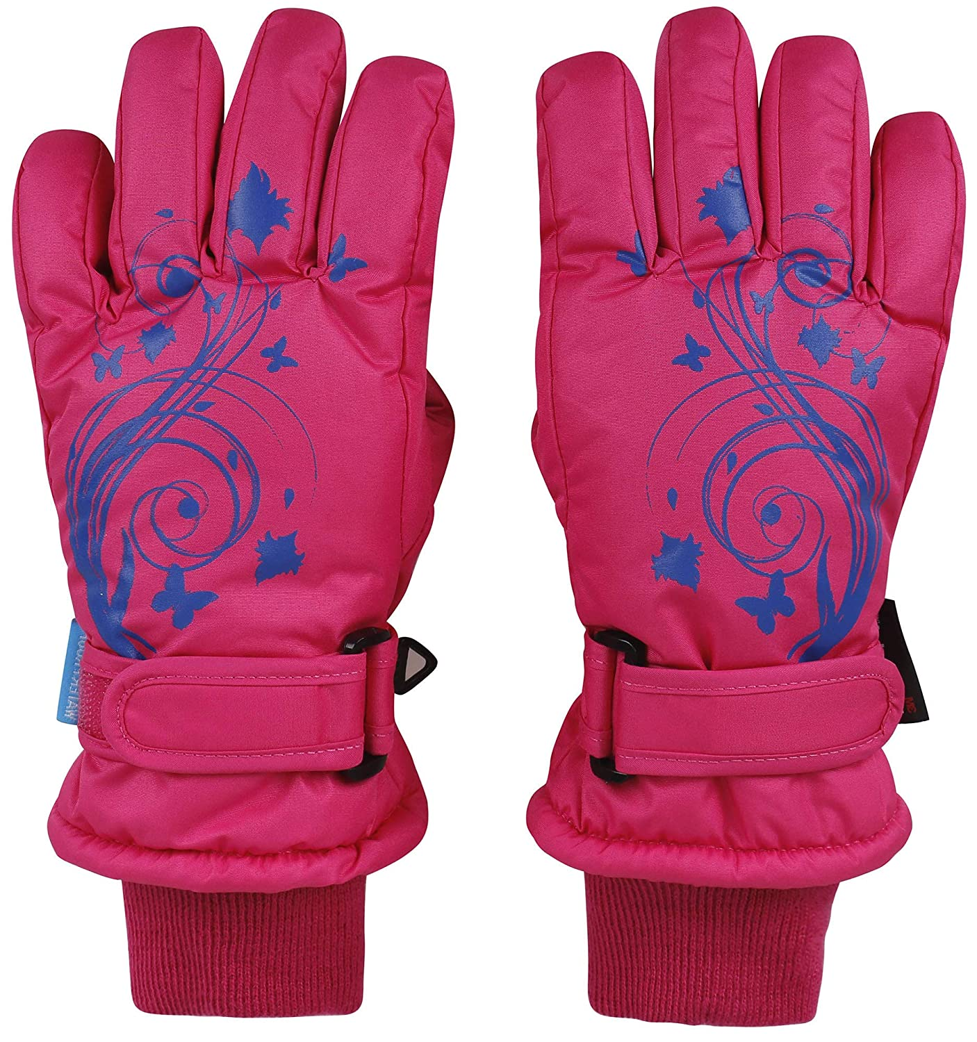 AbbyLexi Kids Boy's & Girl's Winter Thinsulate Lined Ski & Snowboard Gloves
