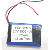 INVENTO 3.7V 1500mAh 3.25 Wh Rechargeable Li-ion battery for PSP DVD MP4 C670 (Grey, 50x35x6 mm)