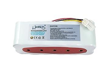 Hannets – Batería para Samsung Navibot SR8845, SR8855, SR8848, SR8895, SR8990, VCR8845, VCR8855, VCR8895