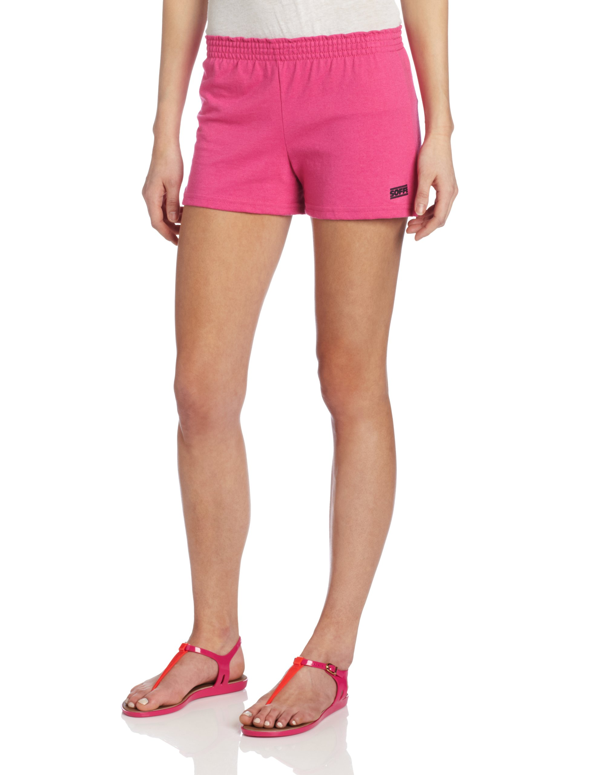 Soffe Juniors The New Short, Pink Glo, Large