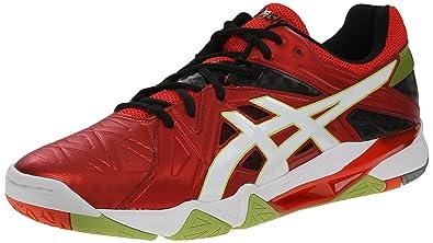 asics men's gel cyber sensei volleyball shoe