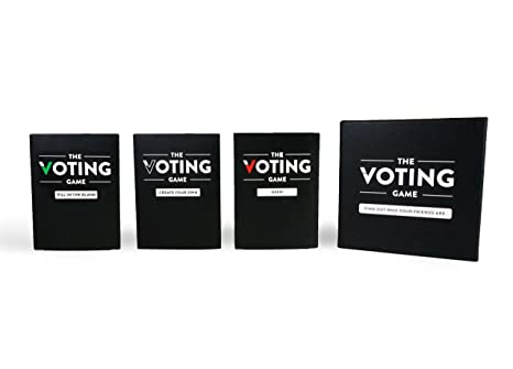 The Voting Game The Party Game about your Friends The Complete Card Game Set