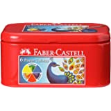 Faber-Castell Poster Color Tin - Pack of 6 (Assorted)
