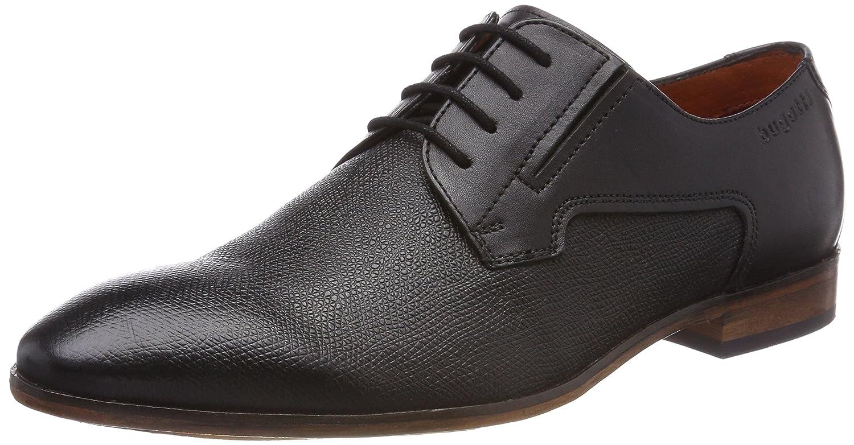 Bugatti 312419011100, Zapatos de Cordones Derby para Hombre, Negro (Schwarz 1000), 42 EU
