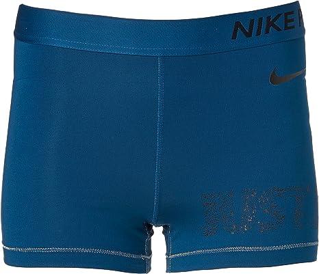 fbb4594b1dd47 Amazon.com  Nike Women s Pro Selfie 3   Shorts (Blue Force