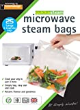 quickasteam microwave cooking bags LARGE size 25 pack