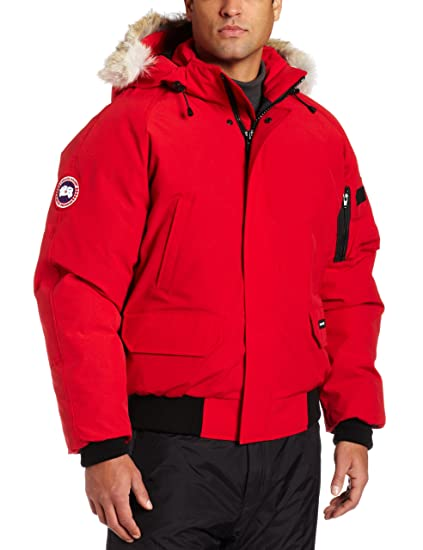 Canada Goose Yorkville Bomber Jacket (Red, X-Small)