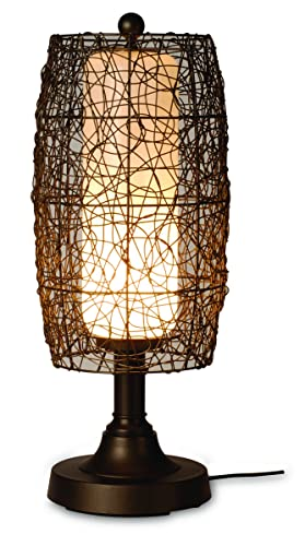 Patio Living Concepts 68287 Bristol 30 Table Lamp, inch, Bronze