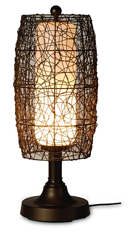 "Image result for 30"" Bristol Table Lamp with Wicker Shade"