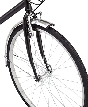 close up of schwinn wayfarer wheel