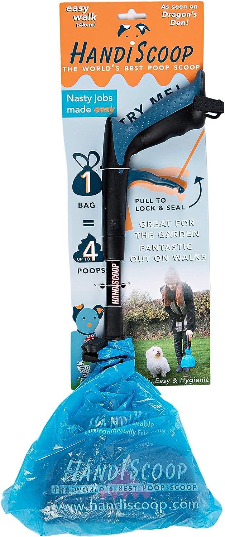 HandiScoop - Pet Select - Pooper Scooper - W/80 Biodegradable Bags