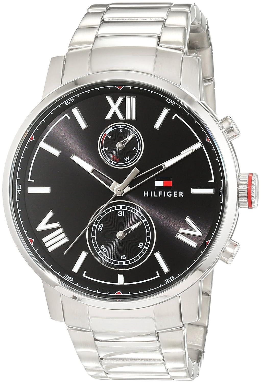Tommy Hilfiger - Herren-Armbanduhr Sport Luxury Analog Quarz Edelstahl 1791307