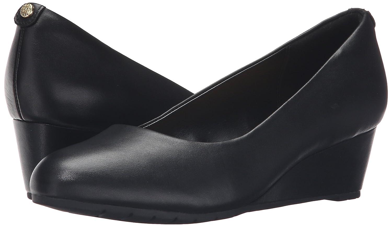 CLARKS Woherren Vendra Bloom Wedge Pump,schwarz Leather,8 M M M US 58530e