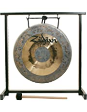 """Zildjian P0565 12"""" Table-top Gong and Stand Set"""