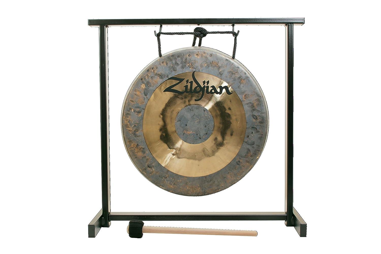 Zildjian P0565 12 Table-top Gong and Stand Set Avedis Zildjian Company