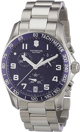 Victorinox herren armbanduhr xl classic analog edelstahl