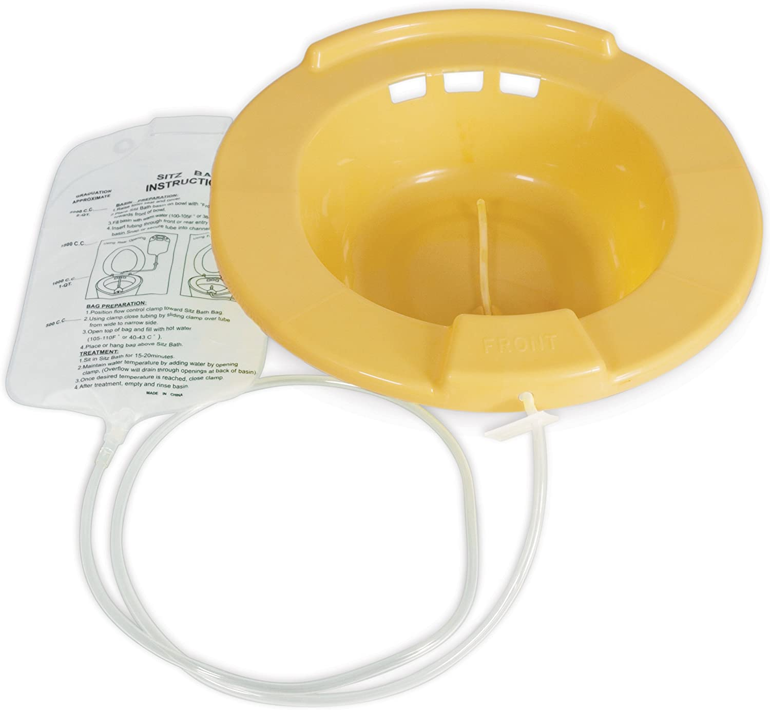 Medpro Durable Home Sitz Bath with Tubing and Water Bag
