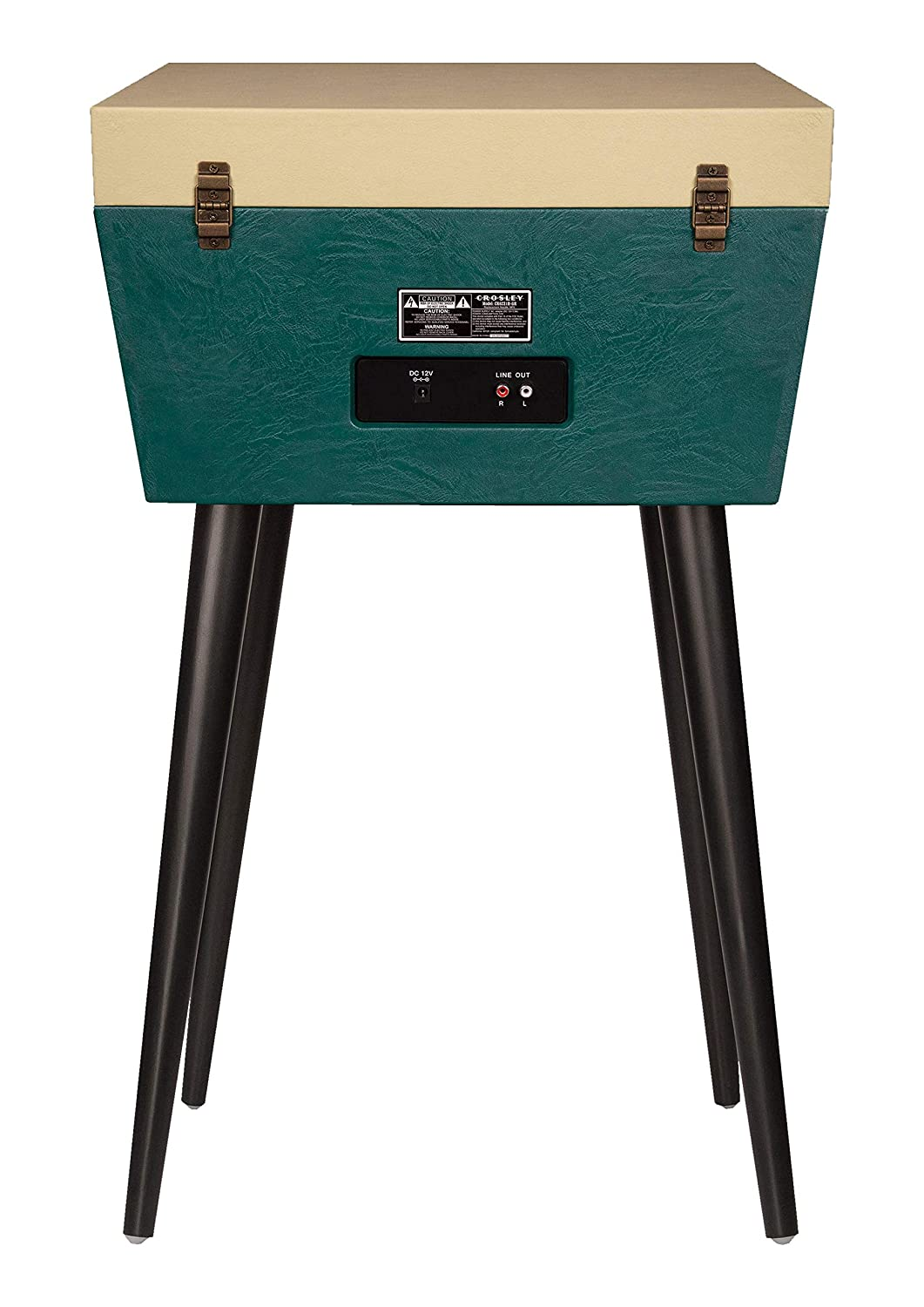 Crosley Sterling Turntable with Aux-In Bluetooth and removable legs Green /& Cream