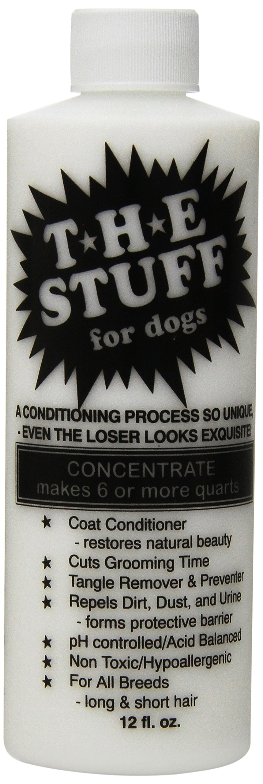The Stuff Dog 15 to 1 Concentrate Conditioner Bottle, 12 oz by The Stuff