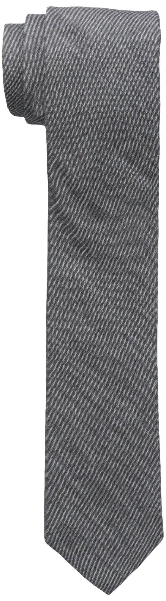 Original Penguin Men's Zion Solid Tie, Dark Navy, One Size