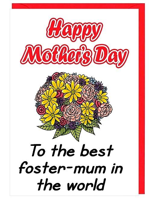 Lovely Foster ramo de mamá día de la madre tarjeta de ...
