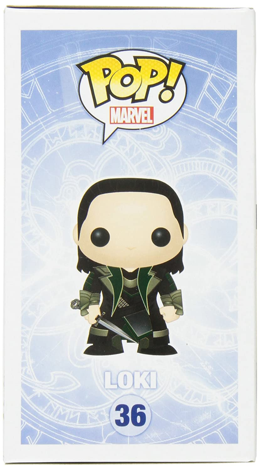Product Funko POP Marvel Bobble Thor Movie 2 Loki Action Figure 3228 Misc
