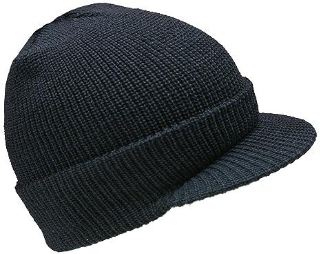 B01M11YGBMGENUINE NEW 100% WOOL PEAKED HAT US ARMY WATCH CAP OUTDOOR ARMY  HEADWEAR BEANIE ( 51b6ad07636