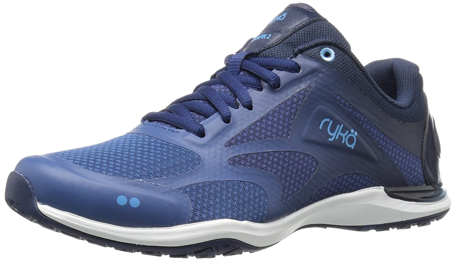 Ryka Women's Grafik 2 Cross-Trainer Shoe B01CF34CA8 6 B(M) US|Navy/Blue