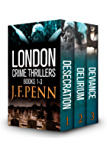 London Crime Thriller Boxset: Desecration, Delirium, Deviance