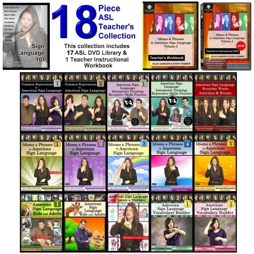 Amazon 17 dvd complete american sign language dvd set amazon 17 dvd complete american sign language dvd set including teachers dvd workbook new gilda toby ganezer movies tv kristyandbryce Choice Image