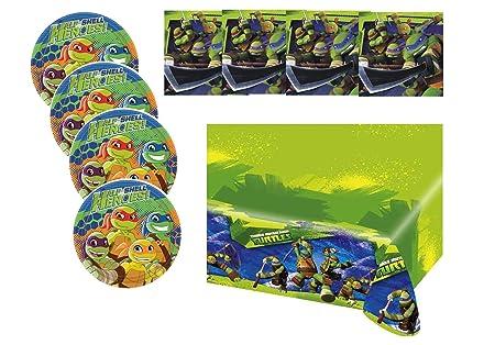Teenage Ninja Turtles - Niños Fiesta/Cumpleaños/Fiesta ...