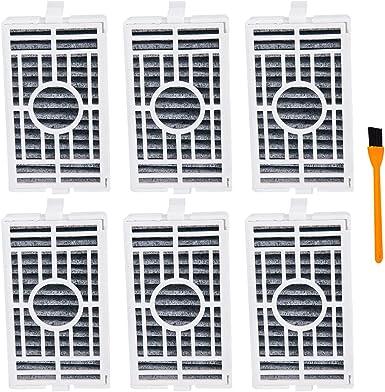 Honfa repuesto Whirlpool W10311524 filtro de aire para refrigerador (6 piezas) para W10311524 AIR1 W10335147 filtro purificador de aire, 2319308 filtro de aire para nevera: Amazon.es: Grandes electrodomésticos