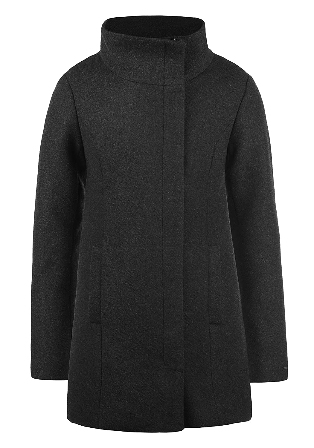 DESIRES Wolke Damen Wintermantel Wollmantel Winterjacke Mit Stehkragen