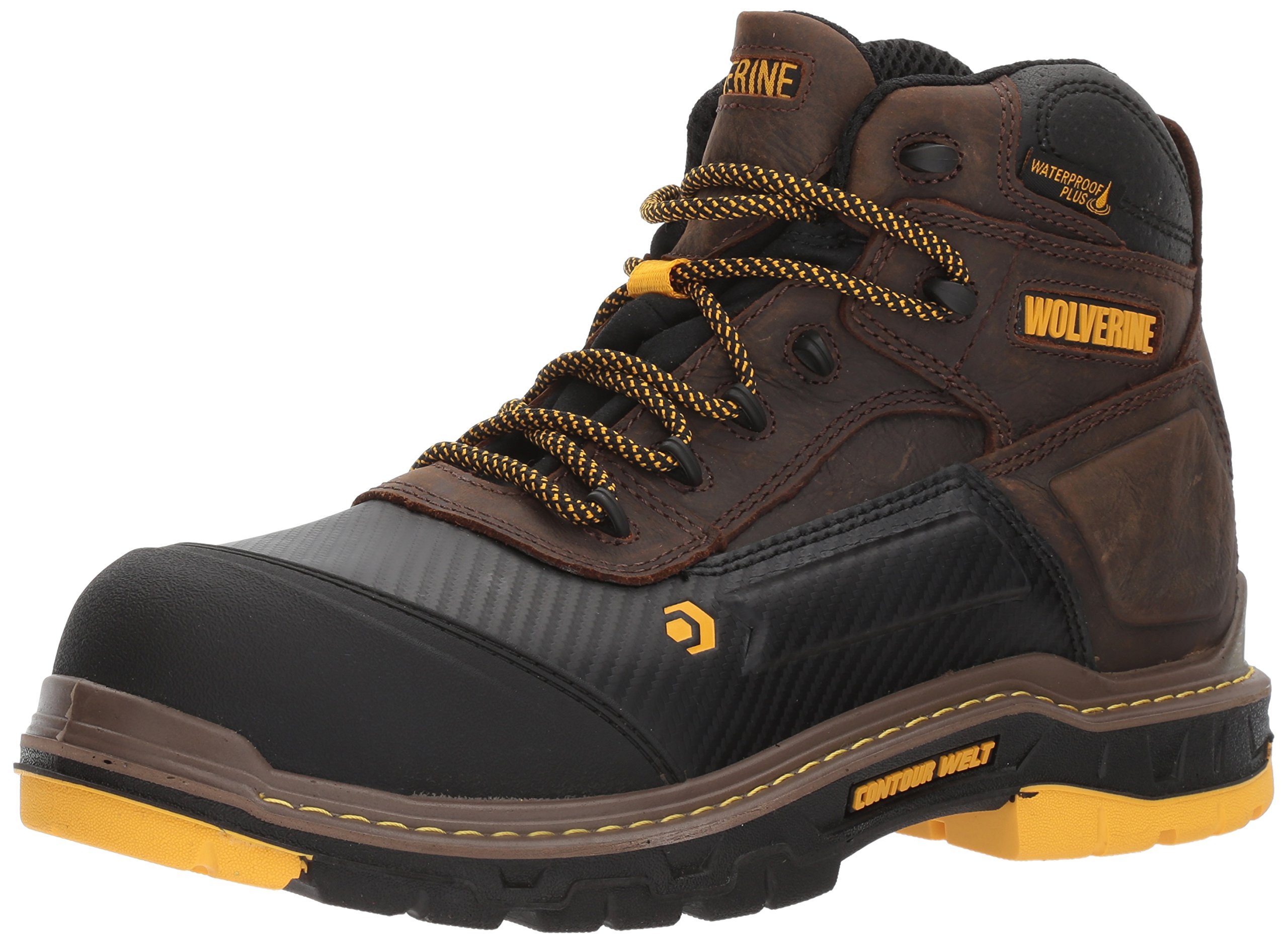 Wolverine Men's Overpass 6'' Composite Toe Waterproof Insulated Work Boot by Wolverine (Image #1)