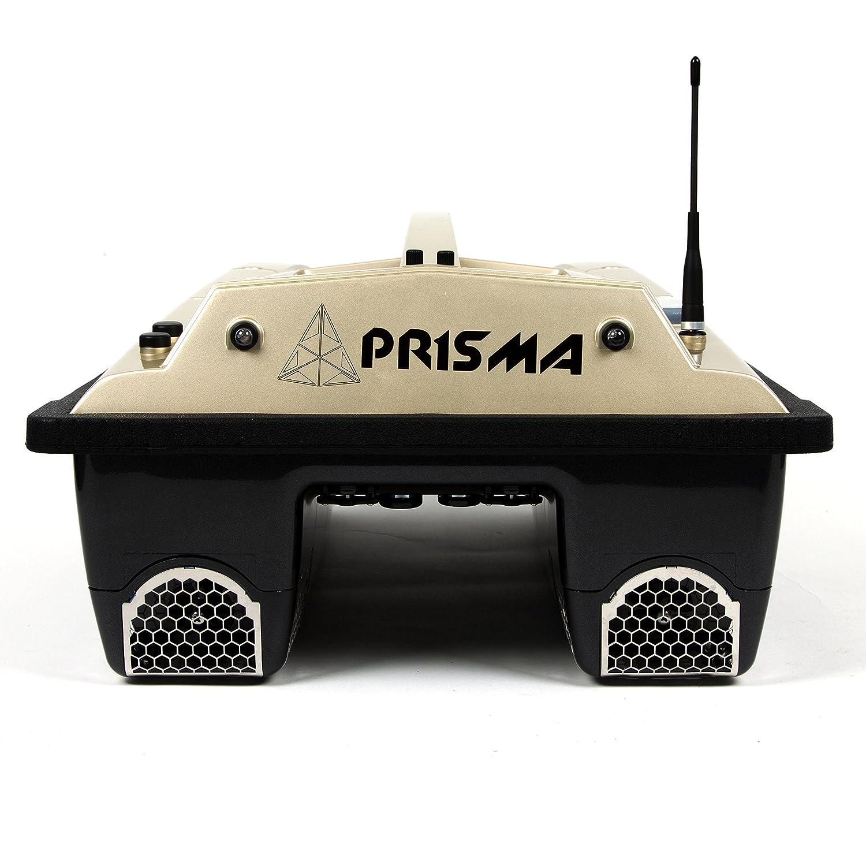Futterboot Prisma 3 von hinten