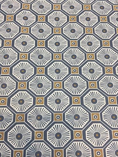 Robert Allen Kimono Fret Midnight Blue Fabric By The Yard