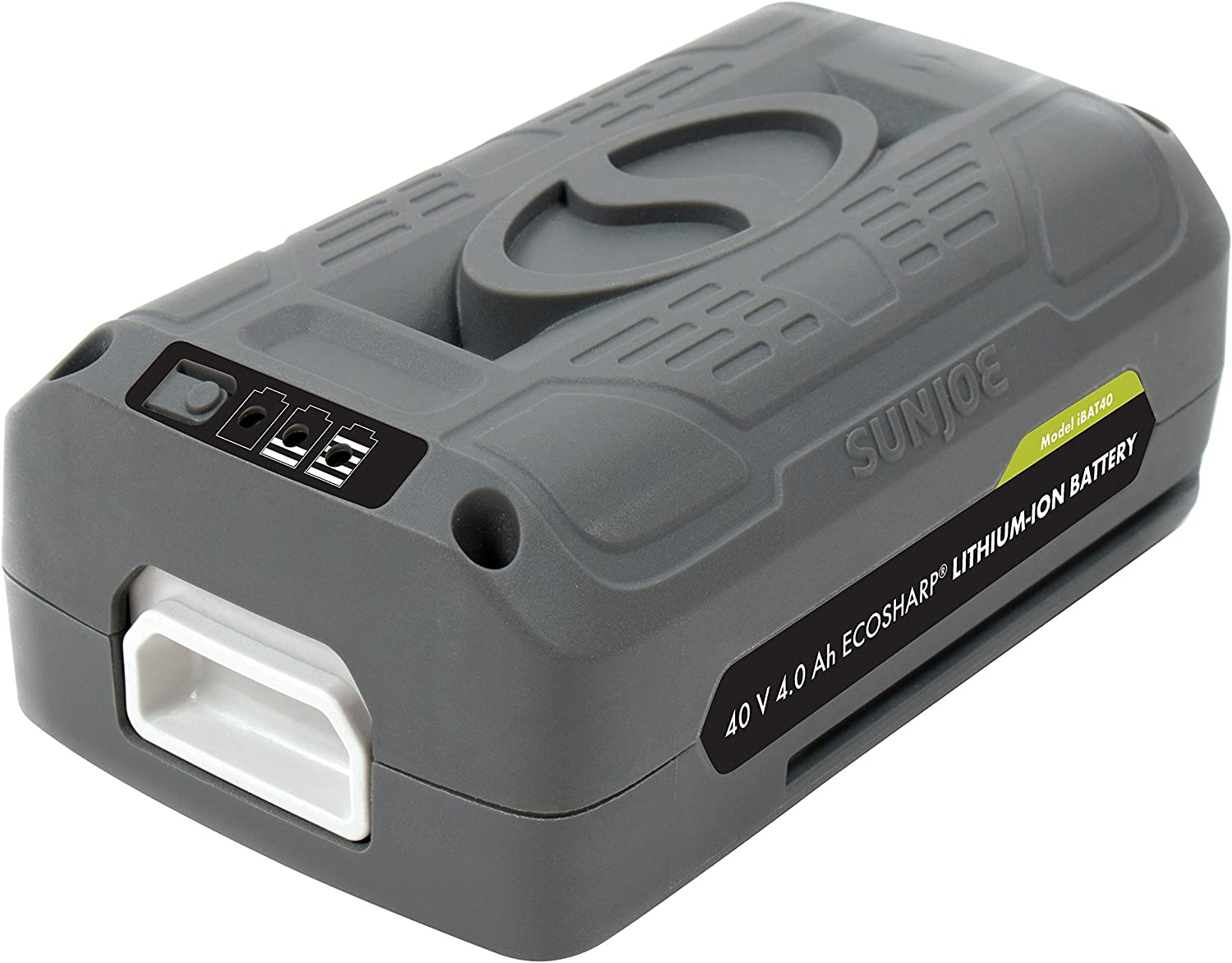 Snow Joe Sun Joe iONMAX iBAT40 EcoSharp Lithium-Ion Battery 40 Volt 4.0 Ah