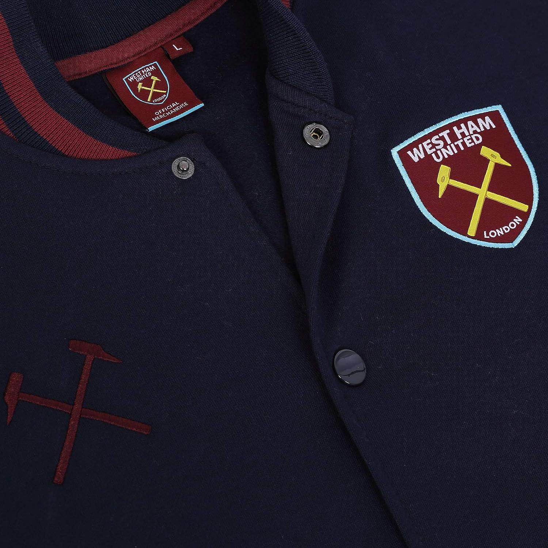 West Ham United FC - Chaqueta Deportiva de béisbol para Hombre ...