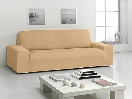 Funda bielastica para sofá Ikea Kivik 3 plazas color marfil ...
