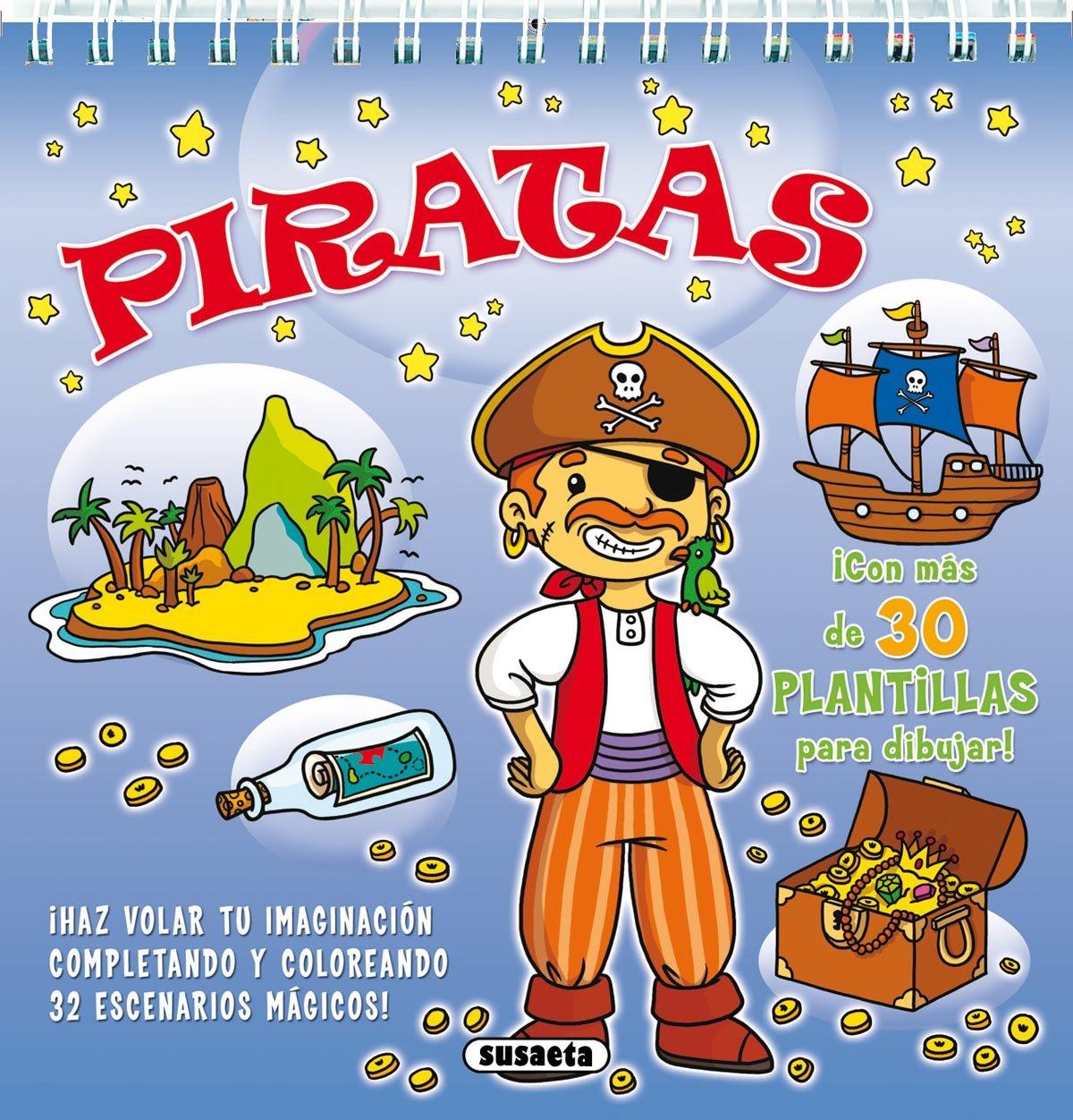 Piratas: 1 (Plantillas magicas): Amazon.es: Susaeta Ediciones S A ...