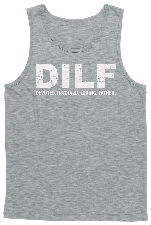 Blittzen Mens Tank Top DILF Devoted Involved Loving Father