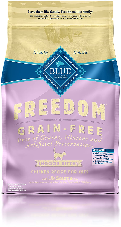 Blue Buffalo Freedom Grain Free Dry Kitten Food