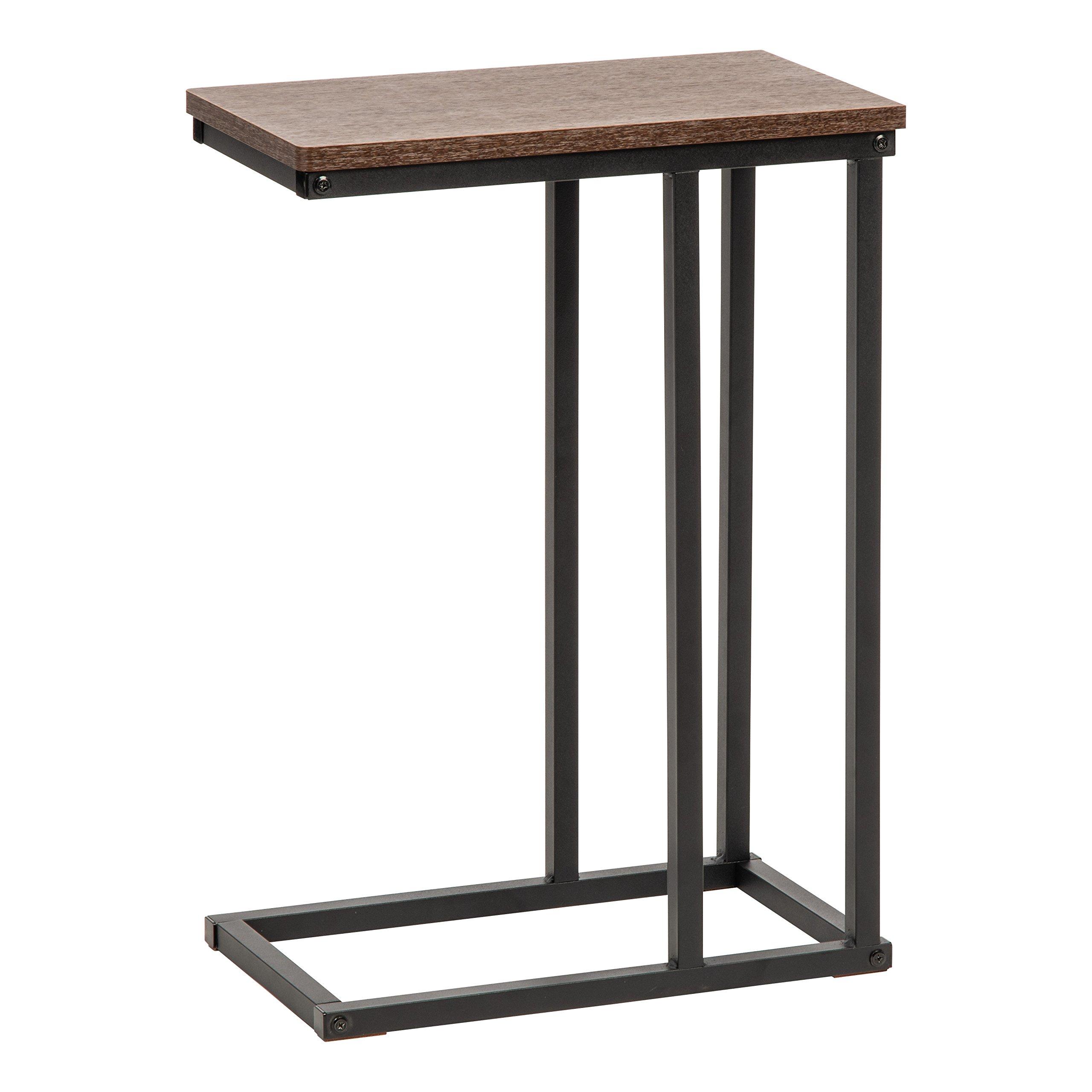 IRIS USA 596650 SDT-L Side Table, Brown
