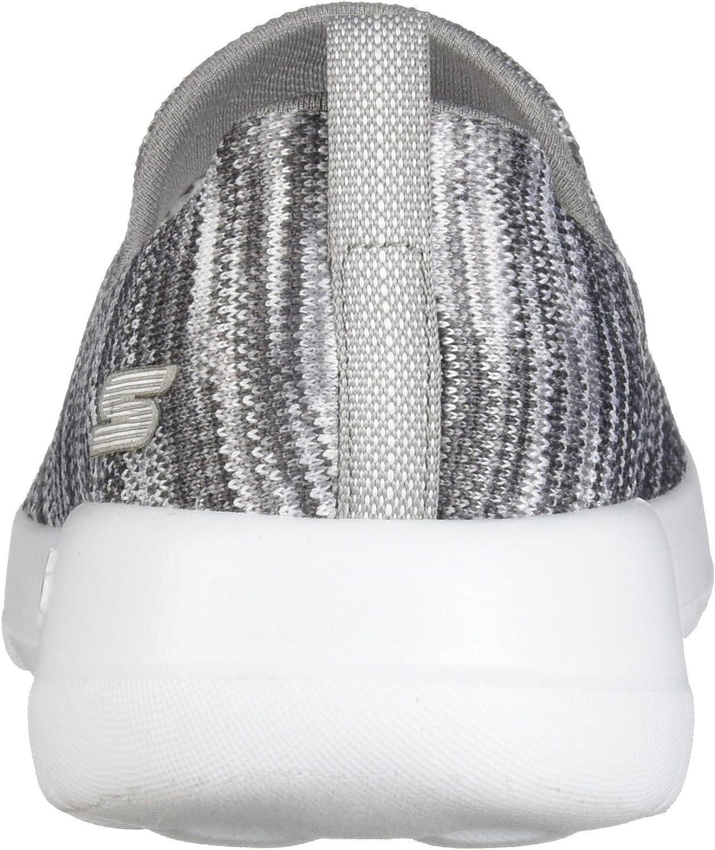 Skechers Go Walk Joy-Terrific, Baskets Enfiler Femme Gris