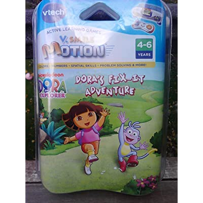 VTech - V-Motion: Dora the Explorer: Toys & Games
