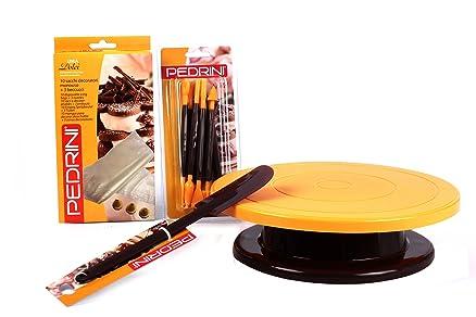Pedrini W1437 Set Cake Design Confezione Utensili e Accessori per ...