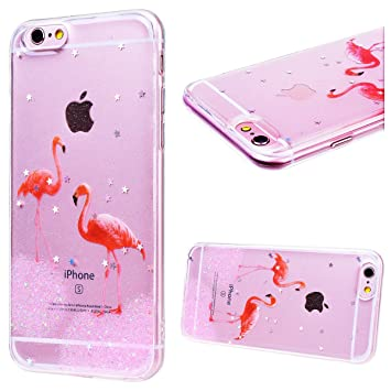 Grandever Coque Iphone 6s Iphone 6 Silicone 3d Paillette